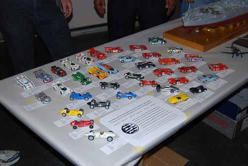 Mr. McClure's 1/43 collection- and one of mine. Racing Cars: F1, Le Mans, Can-Am, WRC